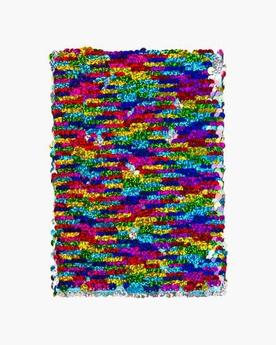 Rainbow Mermaid Color-Changing Sequin Journal