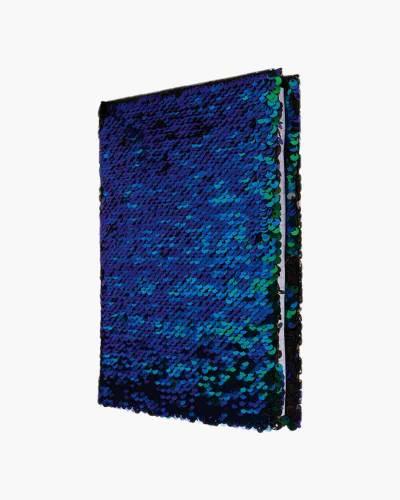 Iridescent Mermaid Color-Changing Sequin Journal