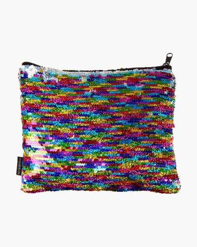 Rainbow Mermaid Zipped Pouch