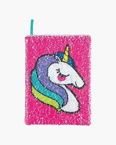 Unicorn Make Magic Happen Sequin Journal