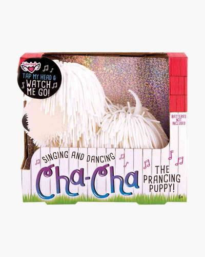 Cha-Cha the Prancing Puppy (White)