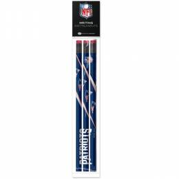 National Design New England Patriots Pencils (3-Pack)