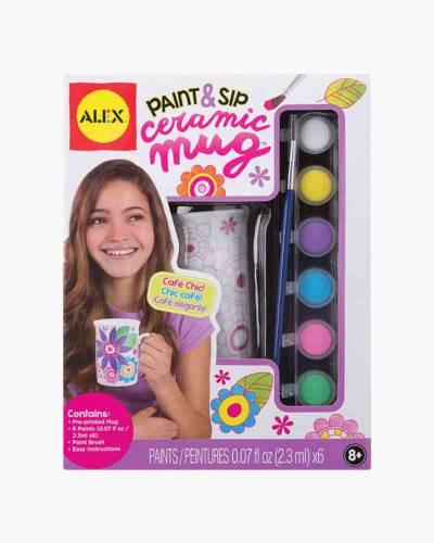 Paint and Sip Ceramic Mug Kit