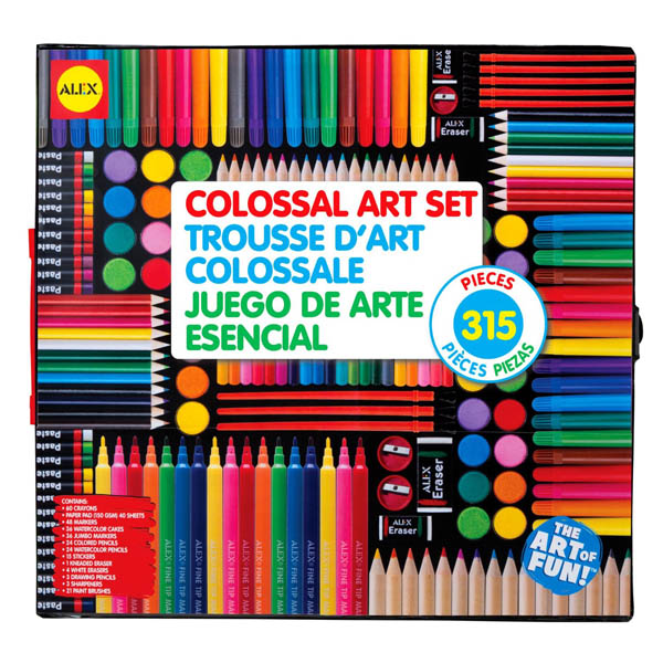 Colossal Art Set (315 pc.) $29.99