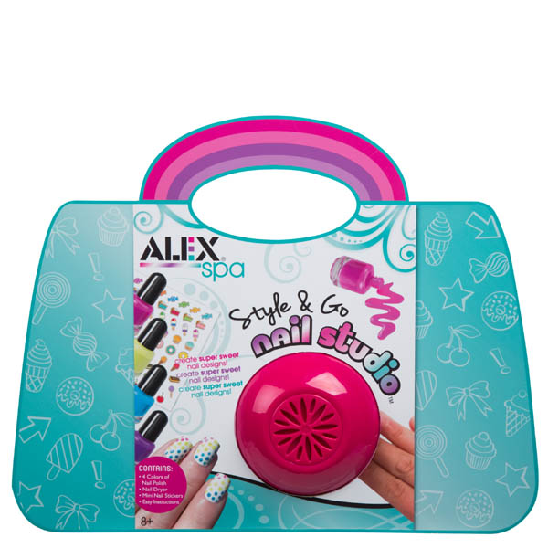 Alex Spa Style and Go Nail Studio Activity Kit