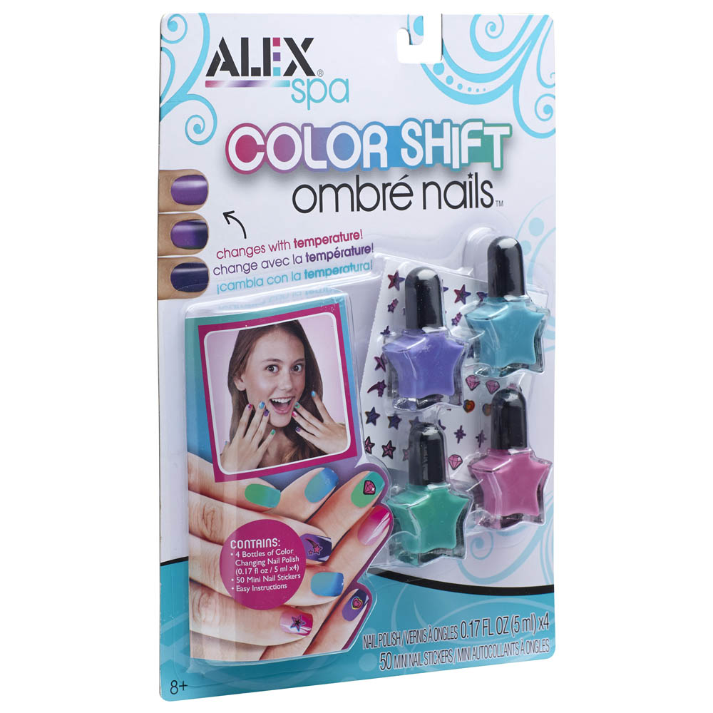 Alex Spa Color Shift Ombre Nails Kit