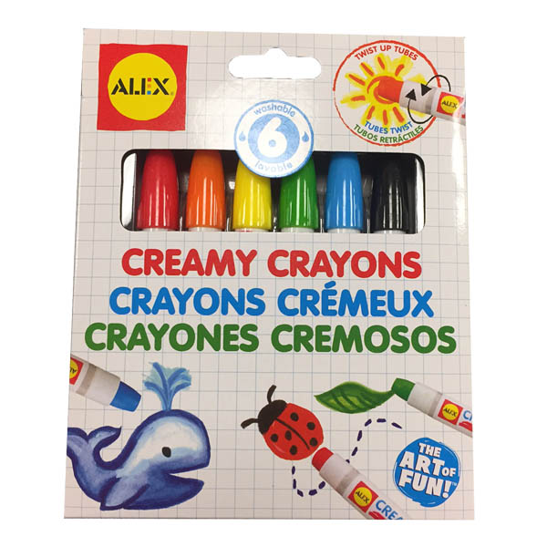 Alex Creamy Crayons Set