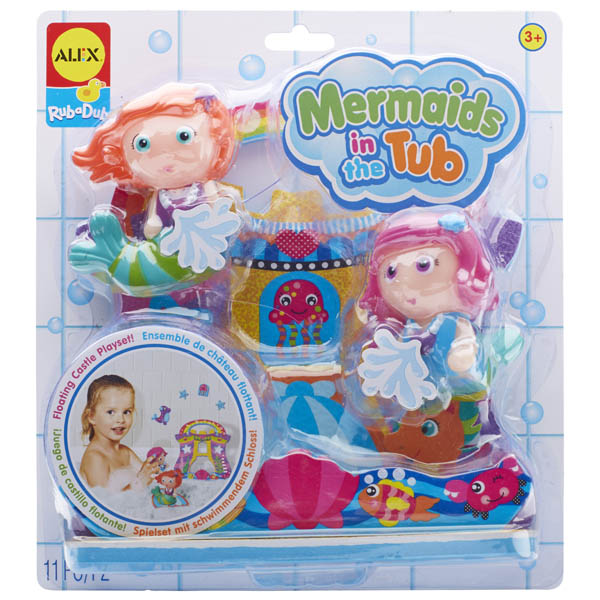 Alex Rub A Dub Mermaids in the Tub Toy Set