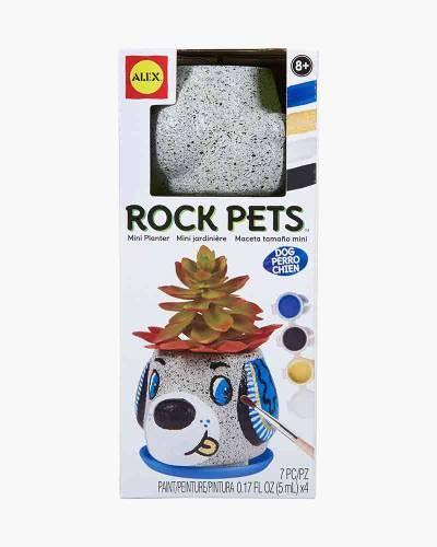 Dog Rock Pet Planter