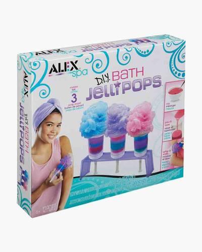 DIY Bath Jelli Pops