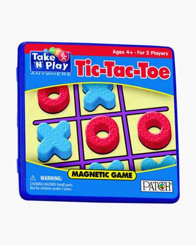 Portable Magnetic Tic-Tac-Toe