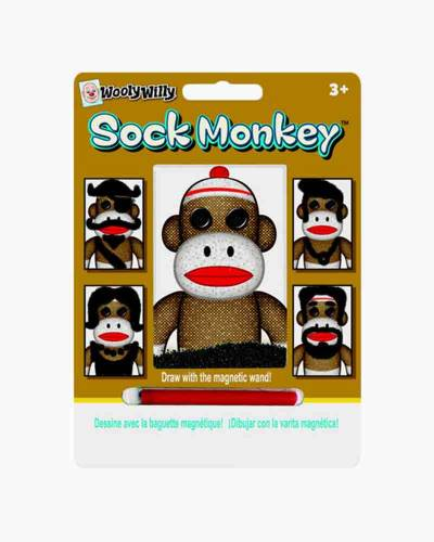 Sock Monkey Magnetic Drawing Pad