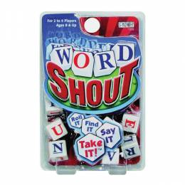 Patch Products Word Shout Dice Game