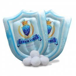 Snowtime Anytime Inflatable Snow Shield Game