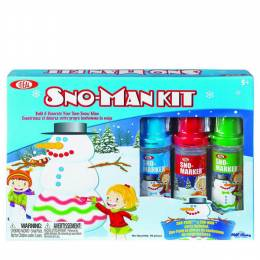 Ideal Sno-Man Coloring Kit