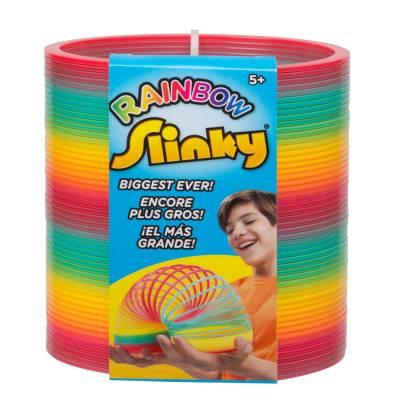 Ginormous Rainbow Slinky