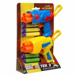 Buzz Bee Toys Air Warriors Tek 3 Blaster Set