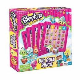 Shopkins Shopkins Big Roll Bingo Game