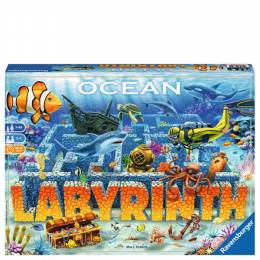 Ravensburger Ocean Labyrinth Underwater Maze Board Game