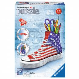Ravensburger American Flag Sneaker 3D Puzzle