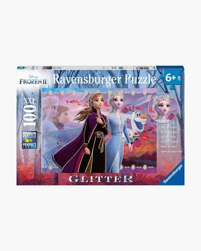 Disney's Frozen 2 Strong Sisters Glitter Jigsaw Puzzle (100 pc.)