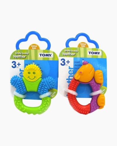 Bristle Buddies Teether (Assorted Styles)