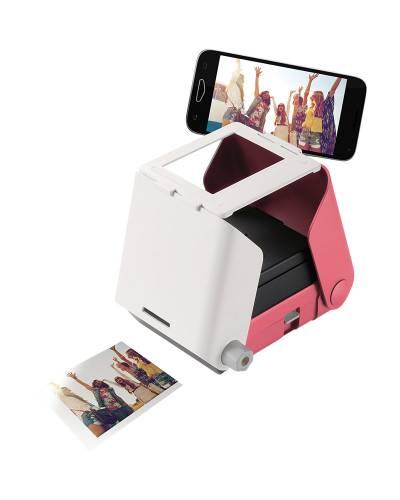 KiiPix Smartphone Picture Printer (Pink)