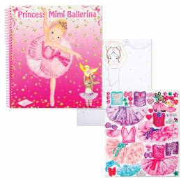 Schylling My Style Princess Ballerina Coloring Book