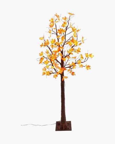 Fall Leaves Tabletop Tree