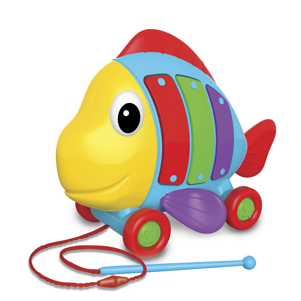 Learning Journey International Pull Along Tune-A-Fish