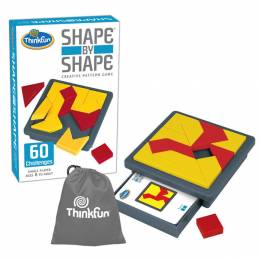 ThinkFun Shape By Shape Creative Pattern Game