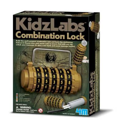 Combination Lock Building Kit