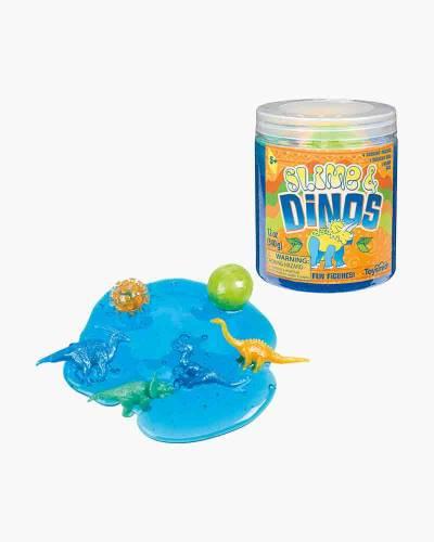 Glitter Slime and Dinosaurs Set