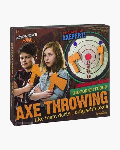 Warrior's Mark Axe Throwing Playset