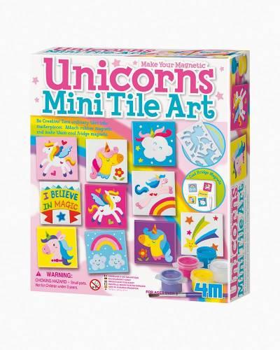 Unicorns Mini Tile Art Kit