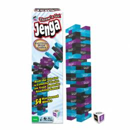 Winning Moves Games Jenga Throw 'N Go Game