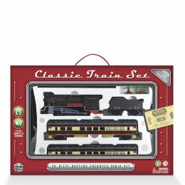 Wowtoyz Classic Train Set (20-Piece Set)