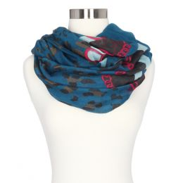 Gena Accessories Leopard Style Infinity Scarf