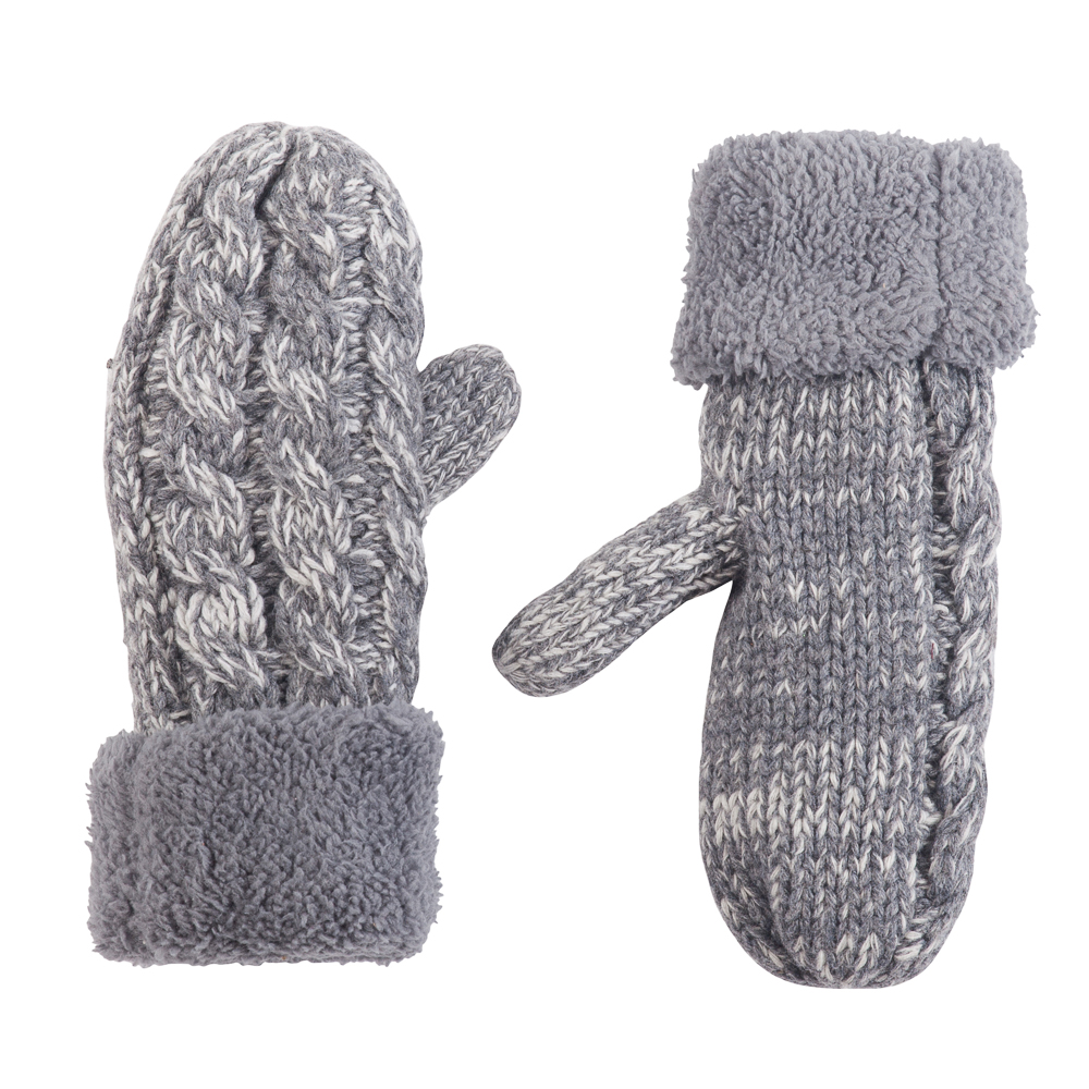Gena Accessories Heathered Mittens
