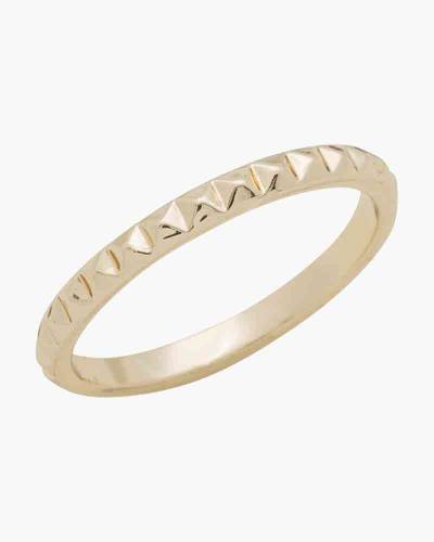 Chiseled Gold Layer Ring