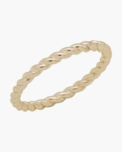 Gold Rope Layer Ring