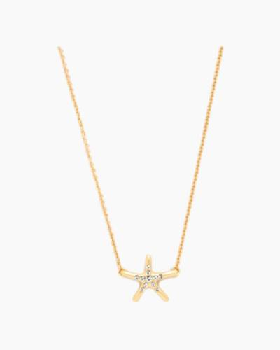 Shine Starfish Sea La Vie Necklace (16-inch)