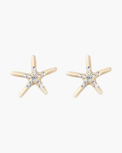 Shine/Starfish Sea La Vie Stud Earrings