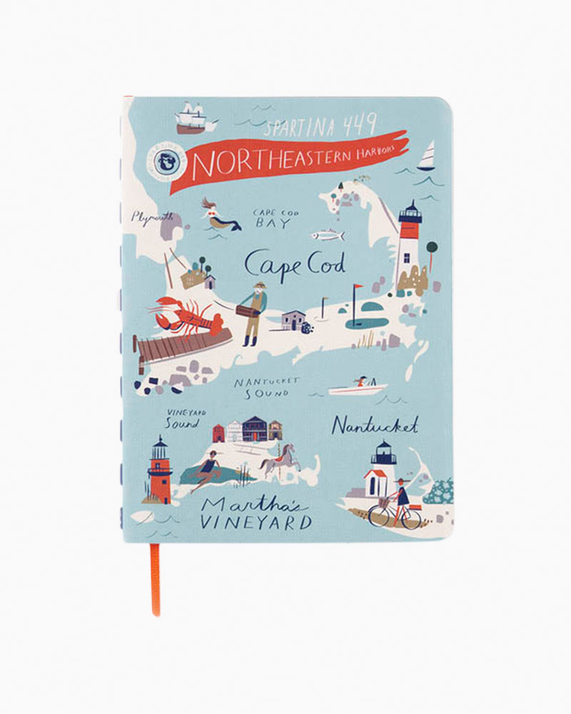 Spartina 449 Ruled Notebook in Bay Dreams