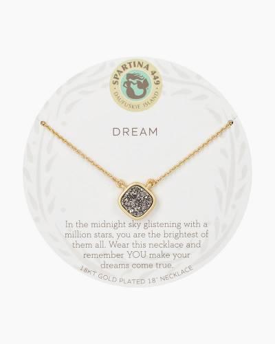 Dream Druzy Gold Necklace