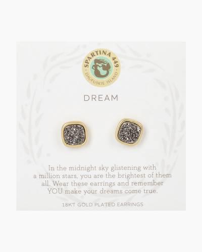 Dream Druzy Gold Earrings