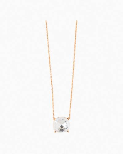 Be Awesome Sea Glass Gold Necklace
