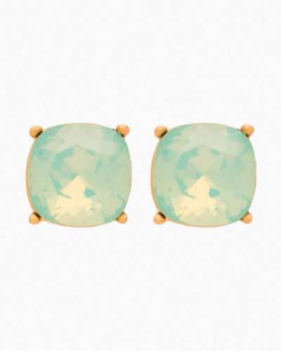 Be Happy Sea Glass Gold Earrings