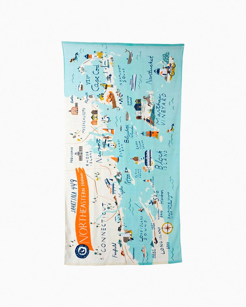 Spartina 449 Beach Towels in Northeastern Harbors
