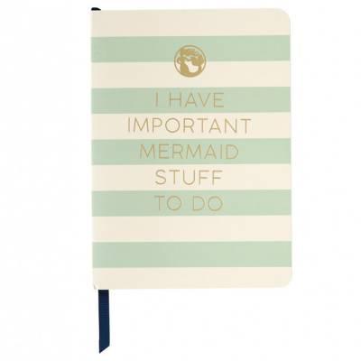 Mermaid Stuff Ruled Notebook